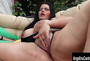 Beamy Boob Cuban Slut Angelina Castro Squirts and Blows!