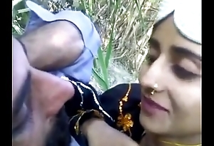 desi man with beautifull teen alfresco