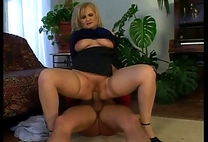 Horny old woman wants the juvenile pianist'_s cock!