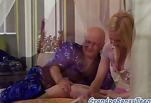 Old man creampies eurobabe