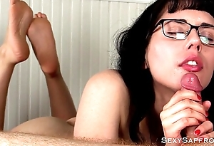 Wrinkled Sole Sensual Cocksucking Blowjob