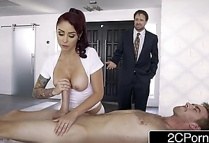 Bored Housewife Monique Alexander Sets Up Disobedient Home Repair to