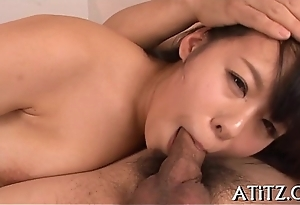 Breasty japanese'_s wild cowgirl