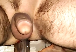 solo gay Marital-device fuck. deep and bloody