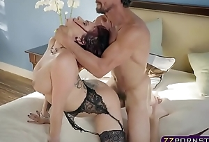 Wife with astounding body and tits cheating on her husband