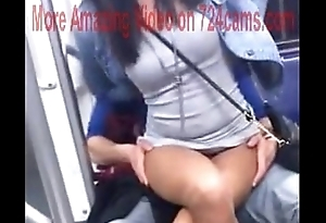 too open on the train -more videos on the 724cams.com