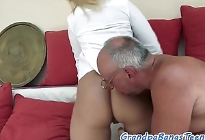 Astonishing young babe screwed