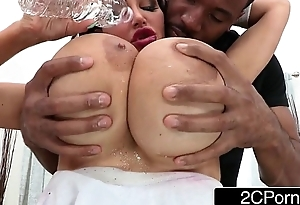 Immense Thing Tits MILF Amy Anderssen Acquires Off the wind fart hear of Her Knees to Drag inflate Big Black Blarney