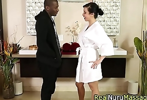 Massaging oriental black