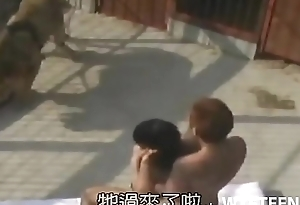 Outdoor Sex With Stunning Asian Hottie Poked In Doggy Style Always free by WTFteen.com