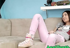 Innocent legal age teenager buttfucked nicely
